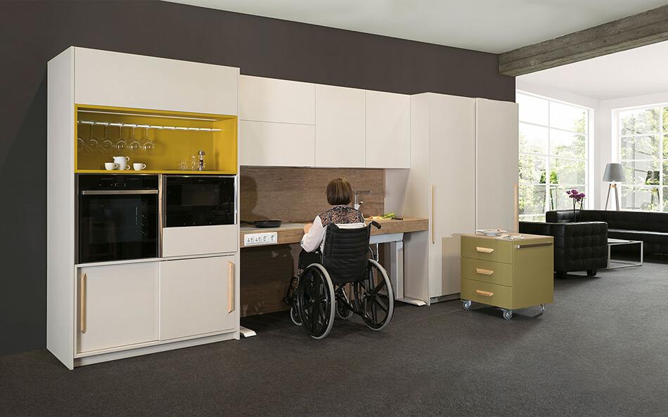 Cocina Adaptada - accesible para personas en silla de ruedas ...